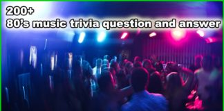 music trivia questions and answers