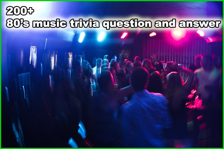 photograph about American History Trivia Questions and Answers Printable titled 200+ 80s New music Trivia Inquiries and Alternatives - Trivia Concerns