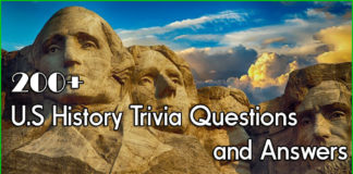 200+ US History Trivia Questions and Answers-min