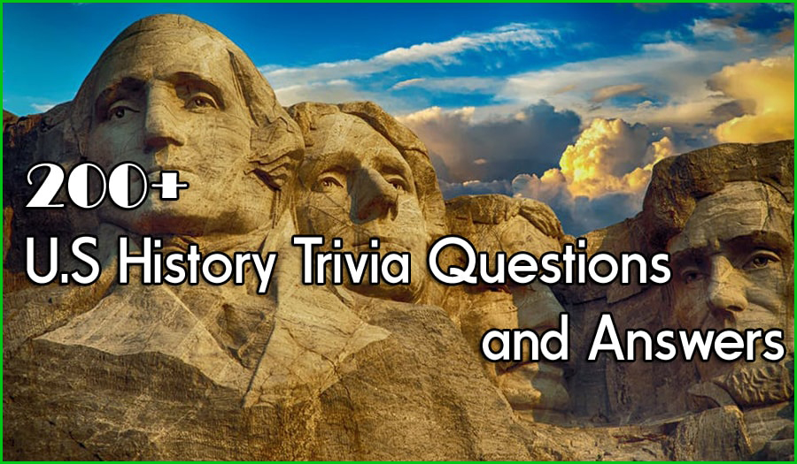 photo regarding American History Trivia Questions and Answers Printable known as 200+ U.S Background Trivia Queries and Methods - US Background