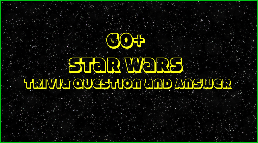 photograph relating to 80's Trivia Questions and Answers Printable named 60+ Star Wars Trivia Issues and Alternatives- Trivia Queries