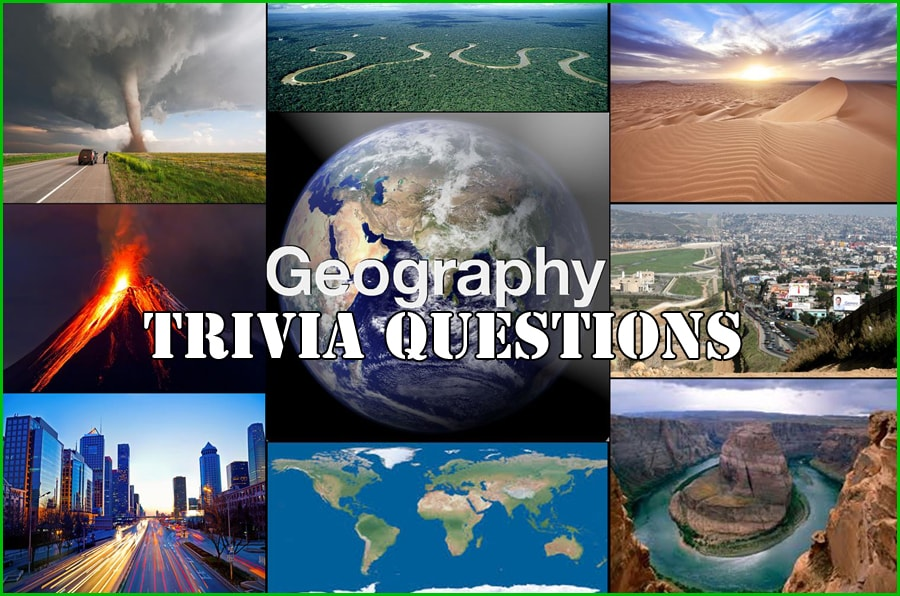 300+ Geography Trivia Questions