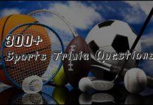 300+ Sports Trivia Questions