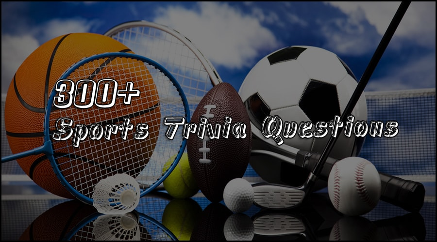 sports trivia questions hard easy