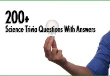 100 Science Trivia Questions For Kids With Answers