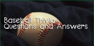 Baseball Trivia Questions and Answers