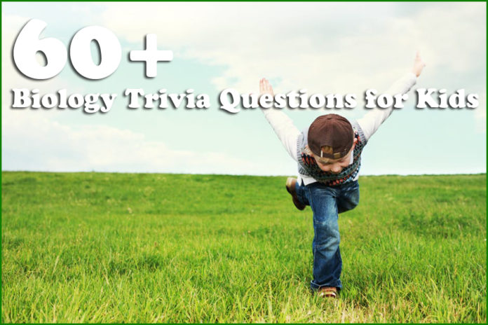 60+ Biology Trivia Questions for Kids