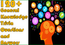 120+ General Knowledge Trivia Questions and Answers